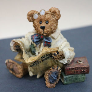 Dean Newsbearger Resin Boyds Bear Stock Market